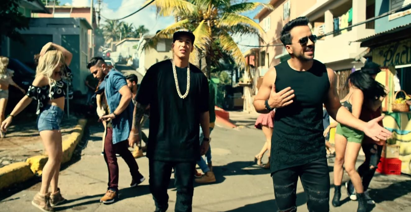 Despacito music video, filmed in La Perla