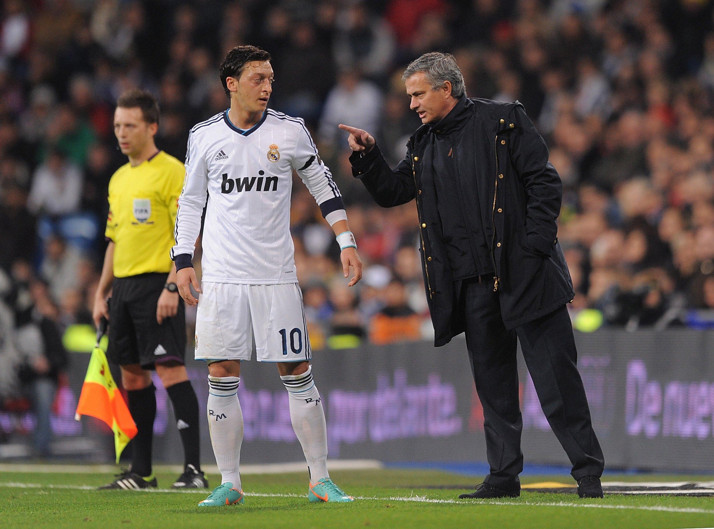 Ozil and Mourinho