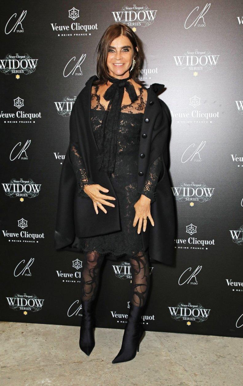 Carine Roitfeld at Veuve Clicquot Widow Series