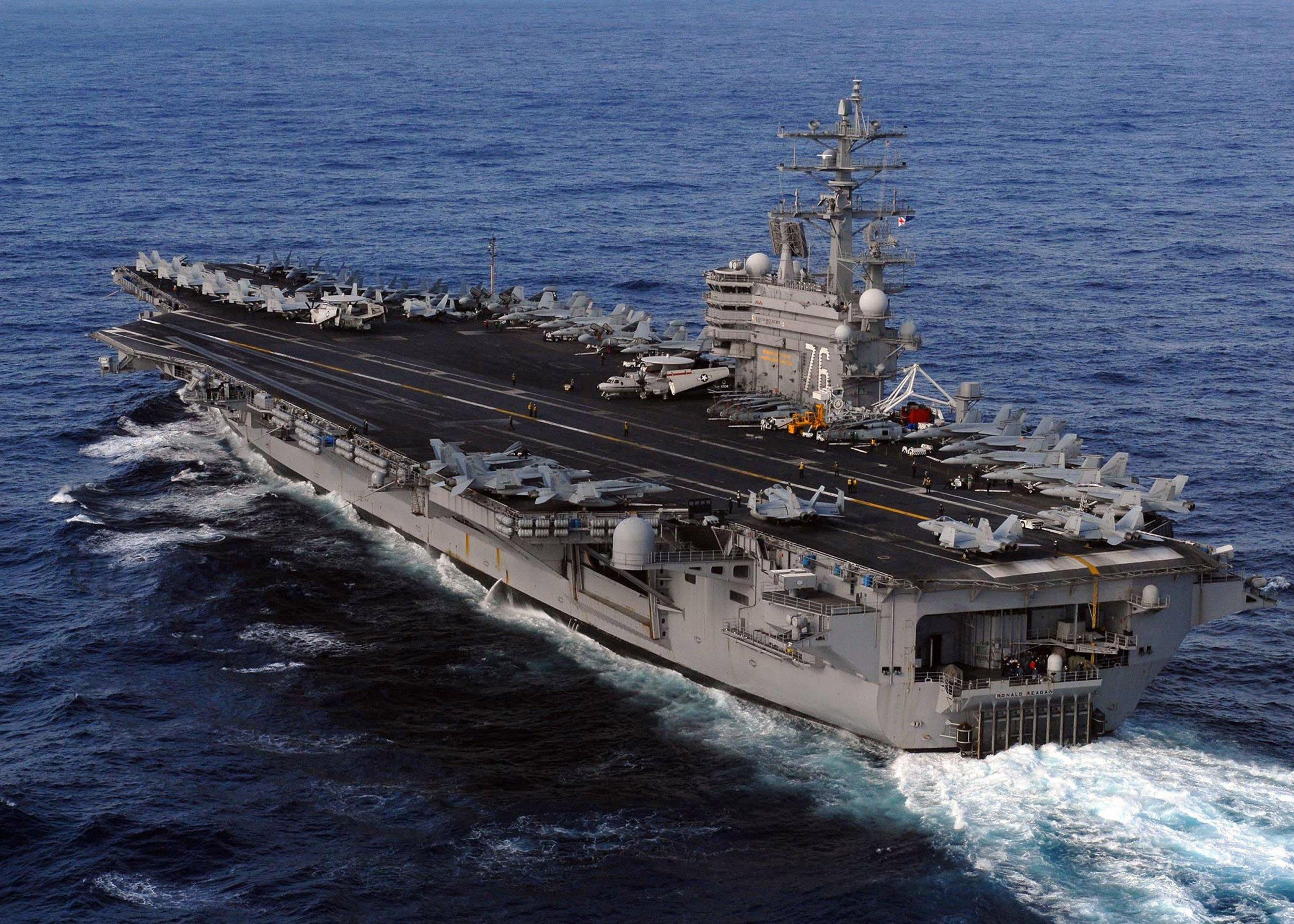 10_20_USS_Reagan_warship_North_Korea