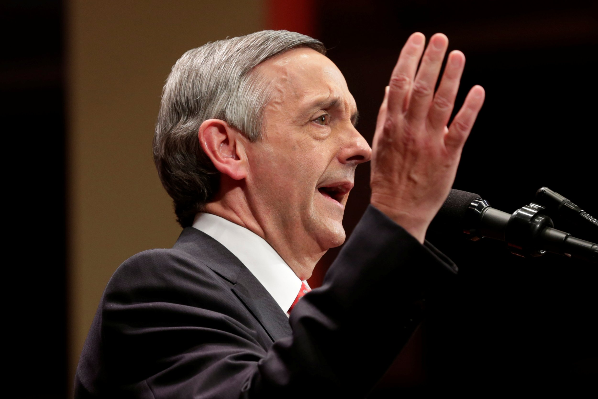 Evangelical pastor Robert Jeffress thinks the Catholic Church is a 'cult-like pagan religion'