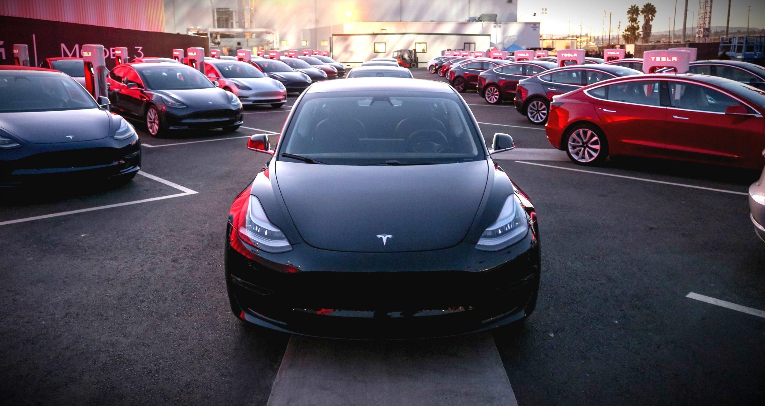 Tesla AI elon musk model 3 china plant
