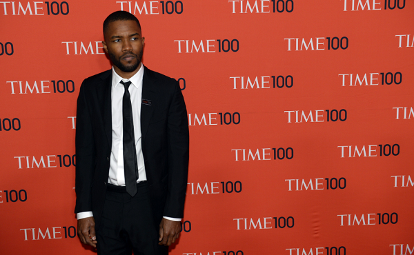 Frank Ocean references 'Rick and Morty' in his new photo essay.