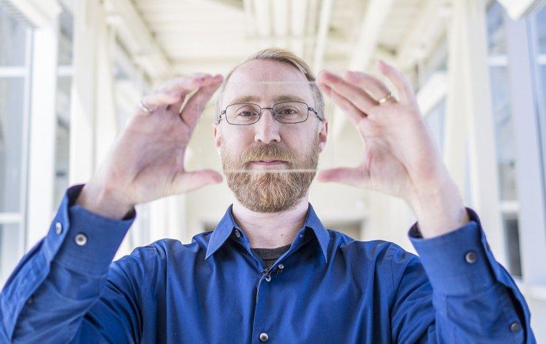 solar window transparent solar cell