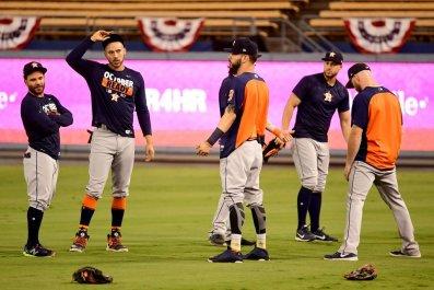 Astros in LA