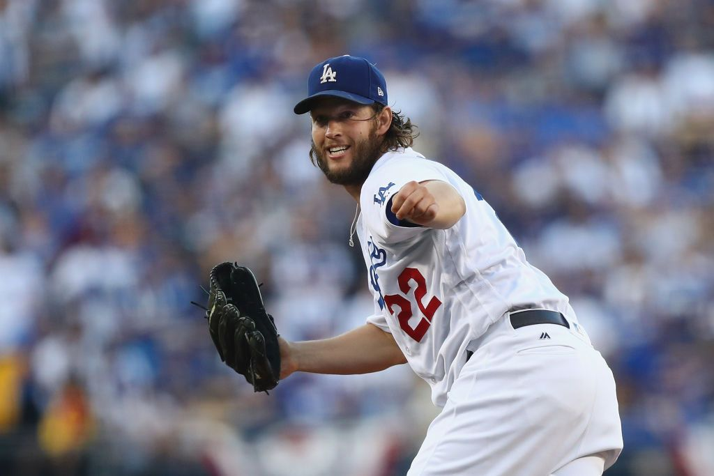 Image result for clayton kershaw world series