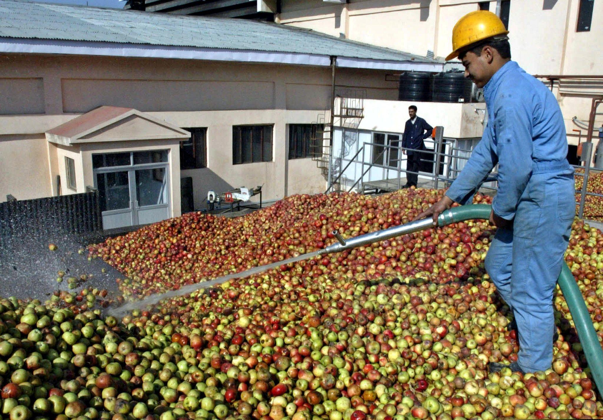 Apple washing