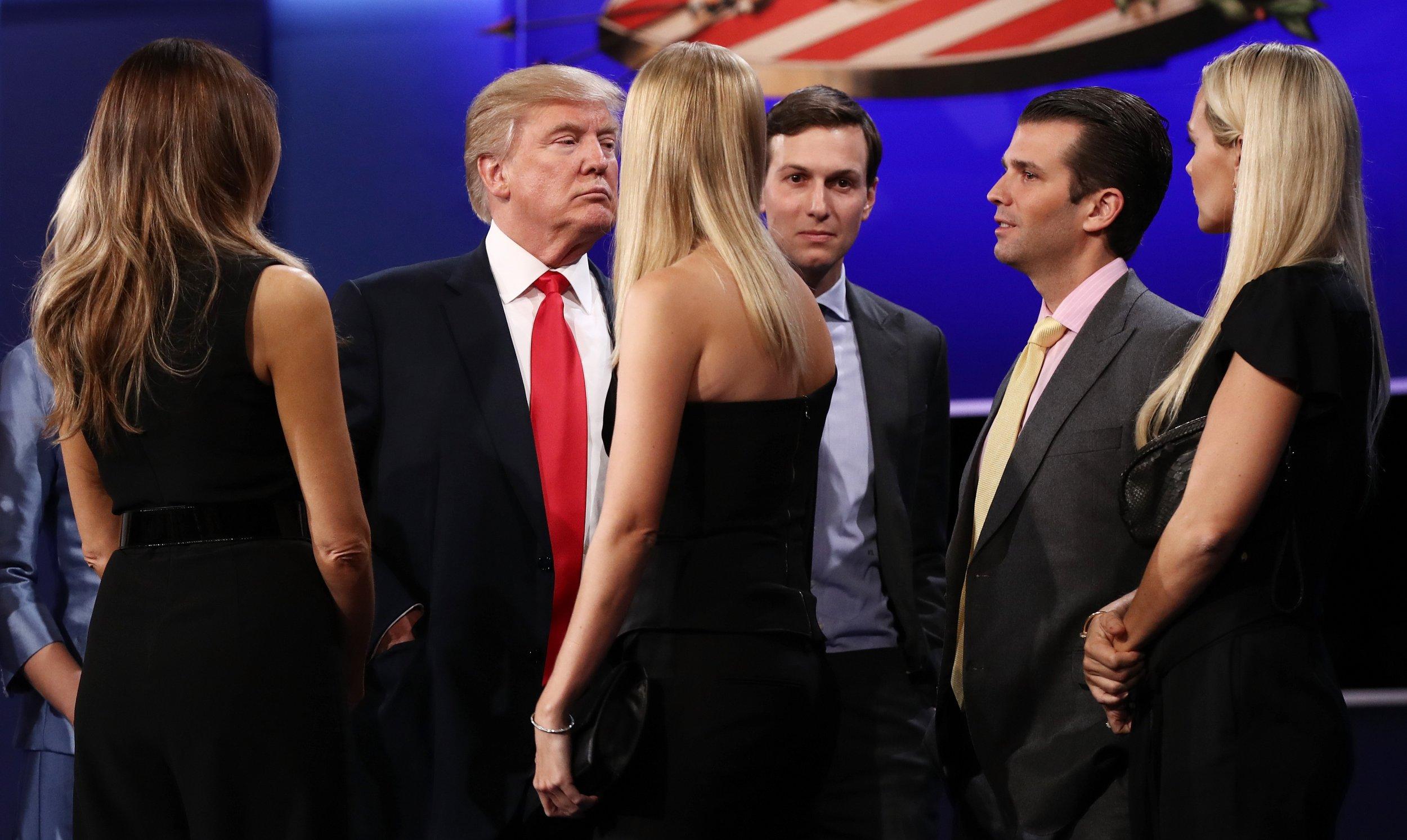 Donald Trump, Trump Jr, Jared Kushner,
