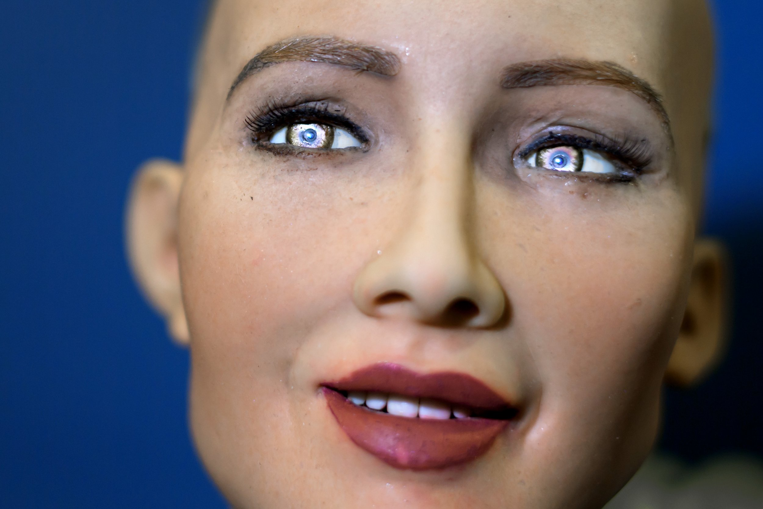 A Robot Mocked Elon Musk and His Grim A.I. Predictions. He Didn't Take It Well