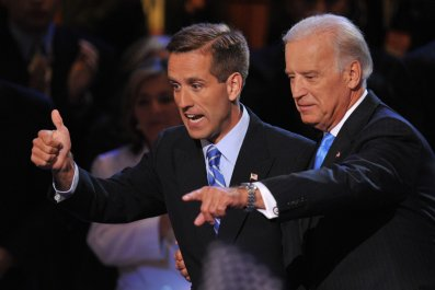 Beau and Joe Biden