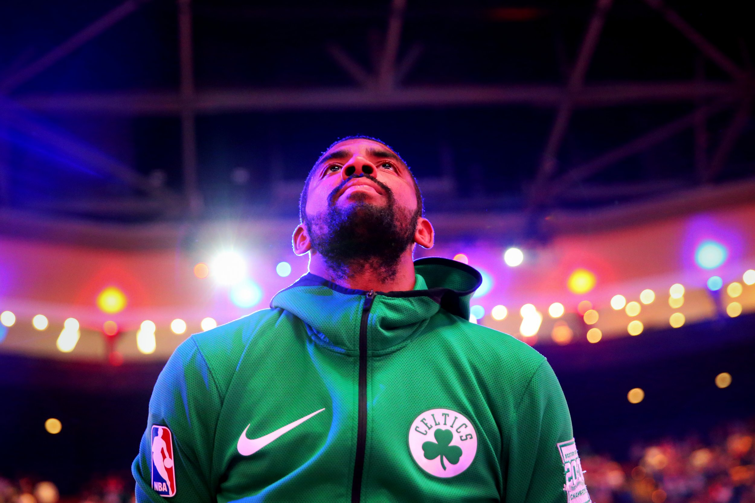 Boston Celtics point guard Kyrie Irving.