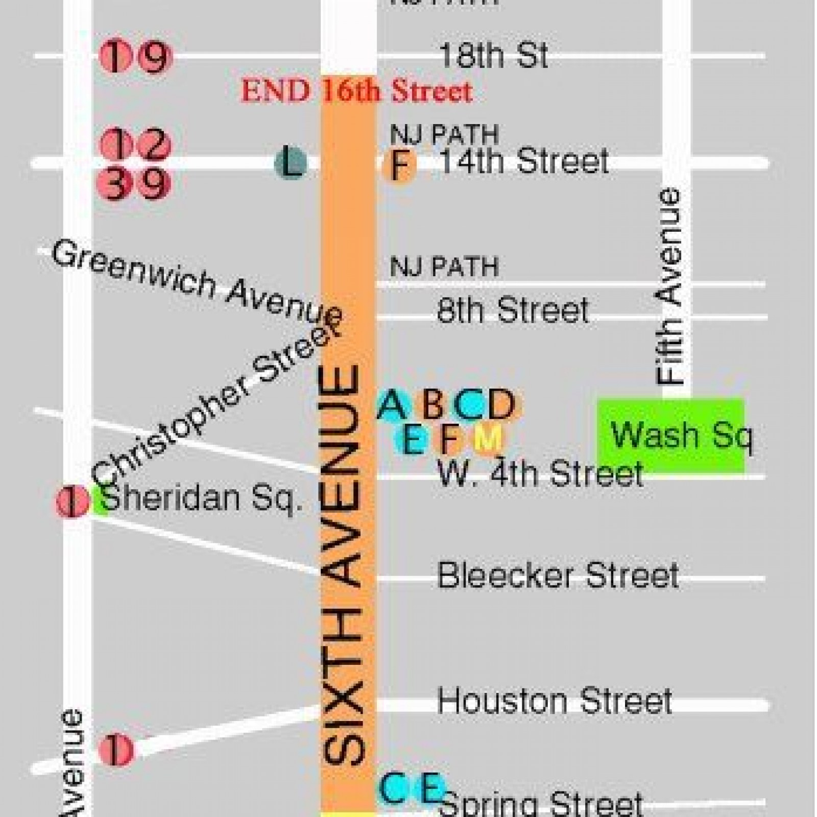 Subway Map Greenwich Village.Nyc Village Halloween Parade 2017 Route Map Viewing Spots And Tv
