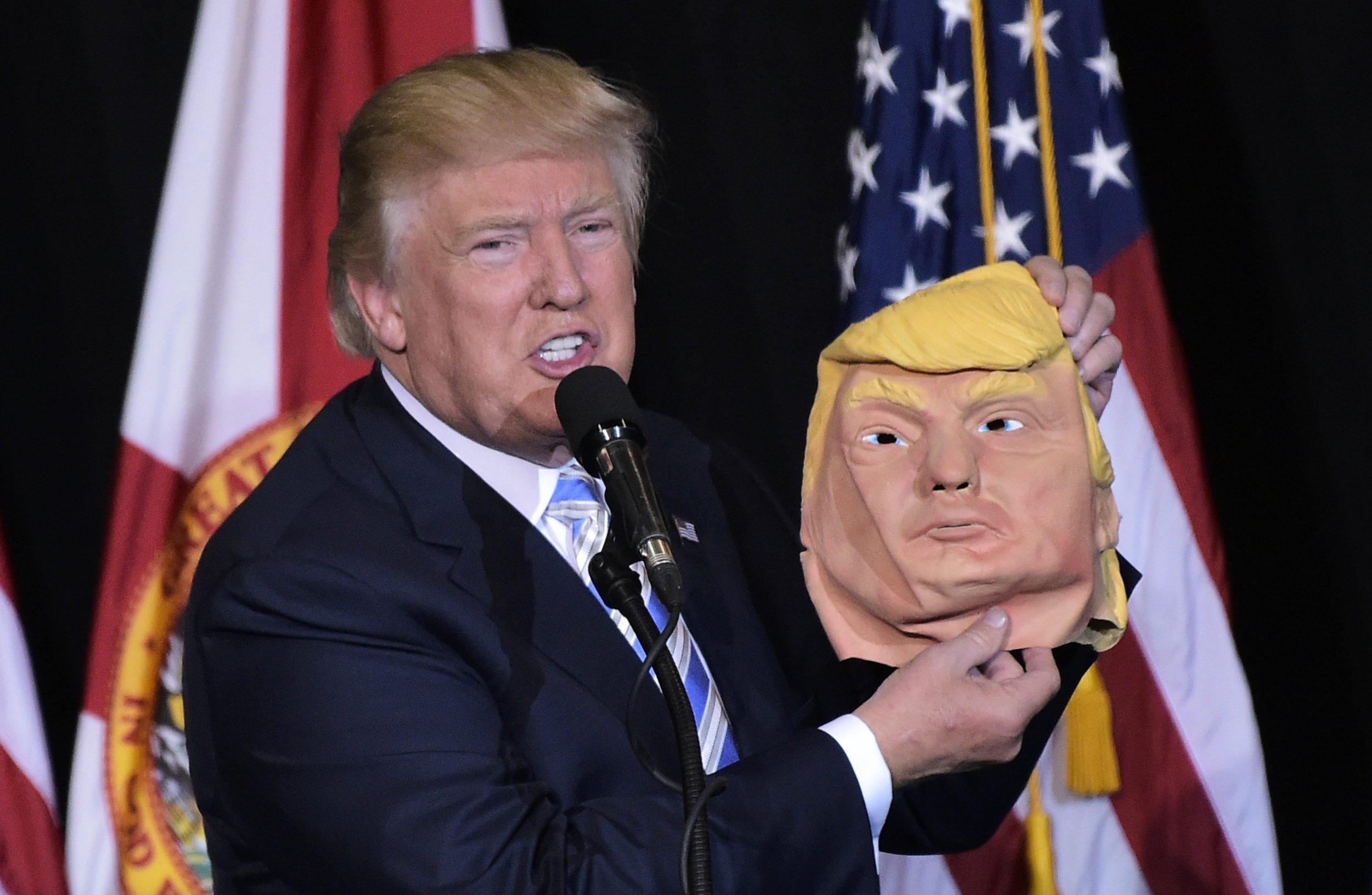 Donald Trump Jr. Offers Hillary Clinton Mask of His Dad so She Can ...