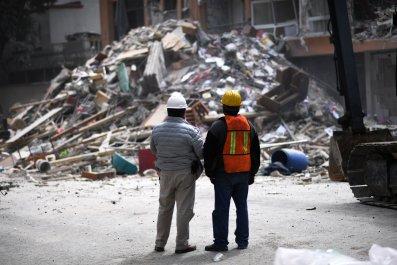 Mexico City Earthquake Damage
