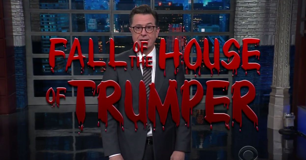 Stephen Colbert presents 'Fall of the House of Trumper'