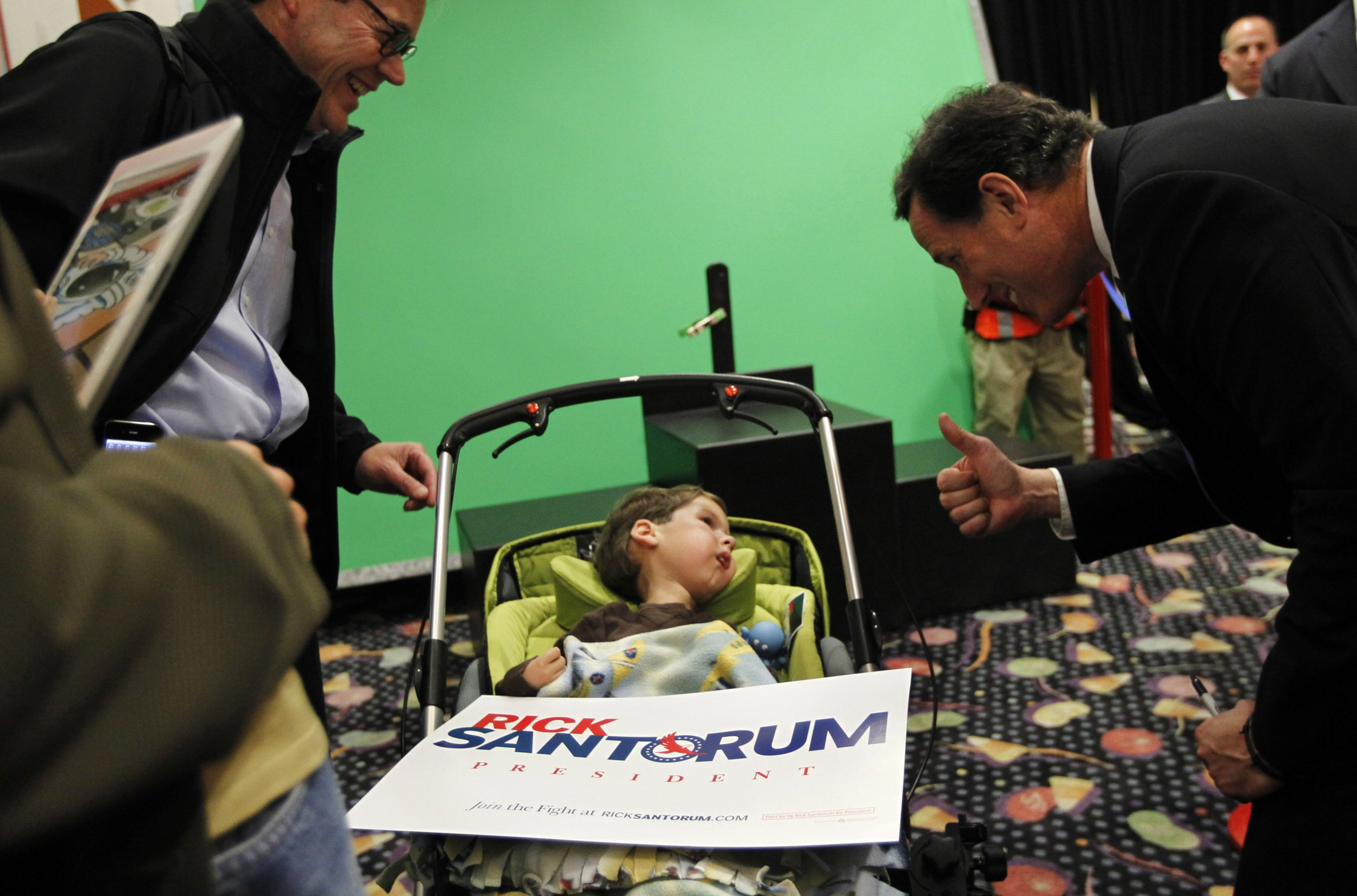 Santorum and SMA patient