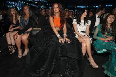 "Rihanna raps on N.E.R.D.'s new single ""Lemon"""