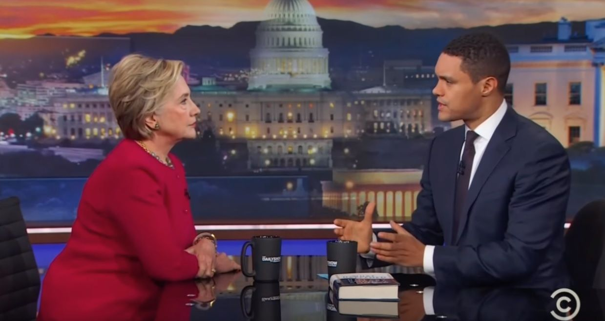 Hillary Clinton on The Daily Show