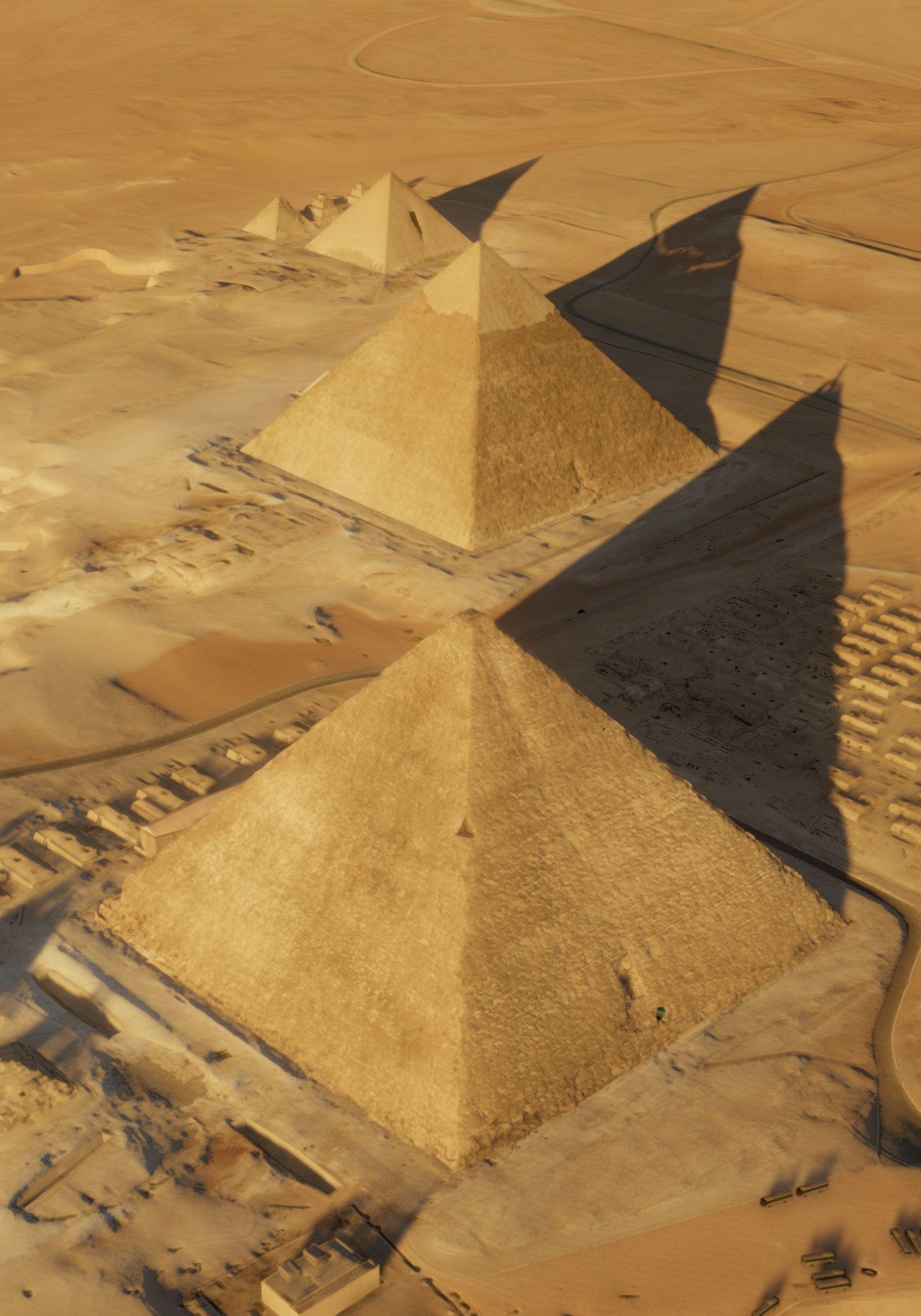 Khufus-Pyramid-aerial-view