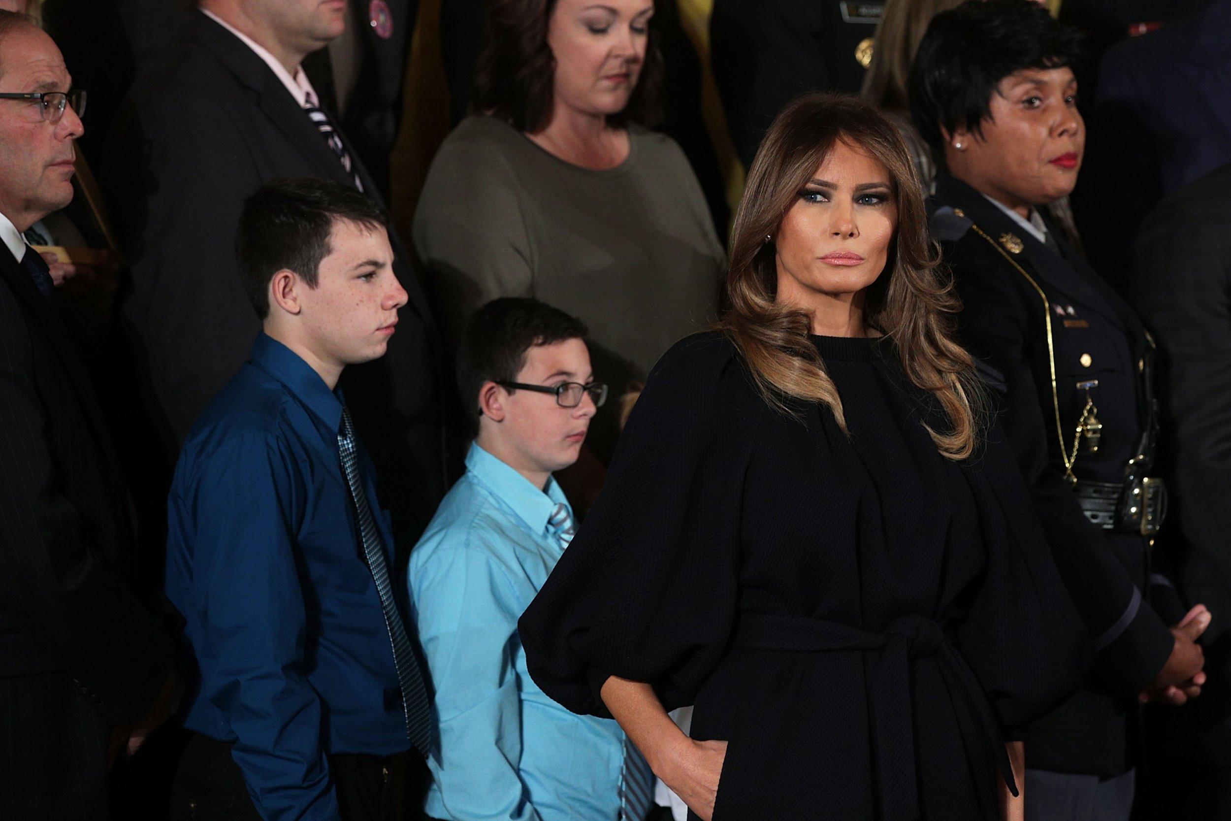 Is Melania Trump miserable?