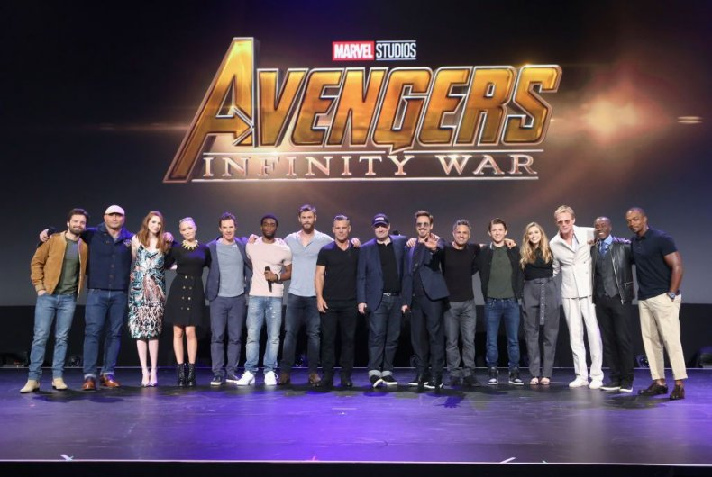 infinity war cast