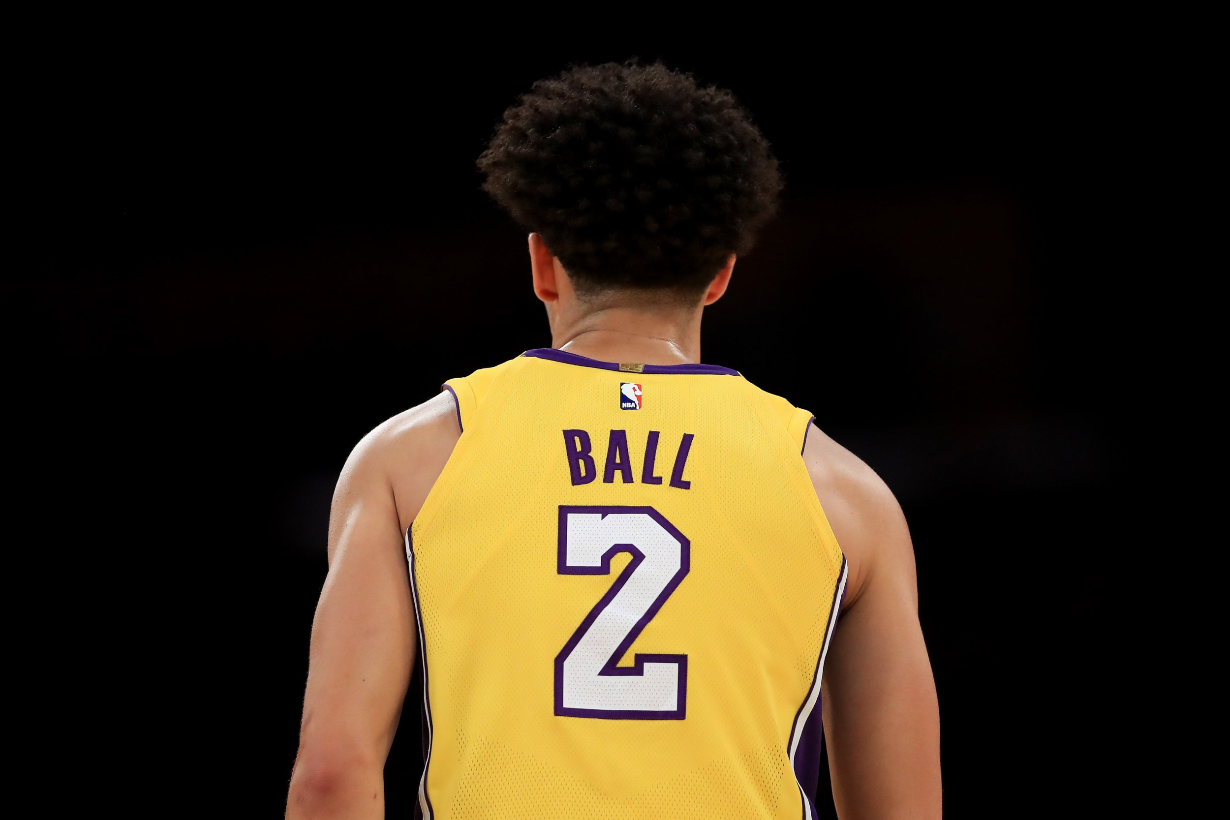 L.A. Lakers point guard Lonzo Ball.
