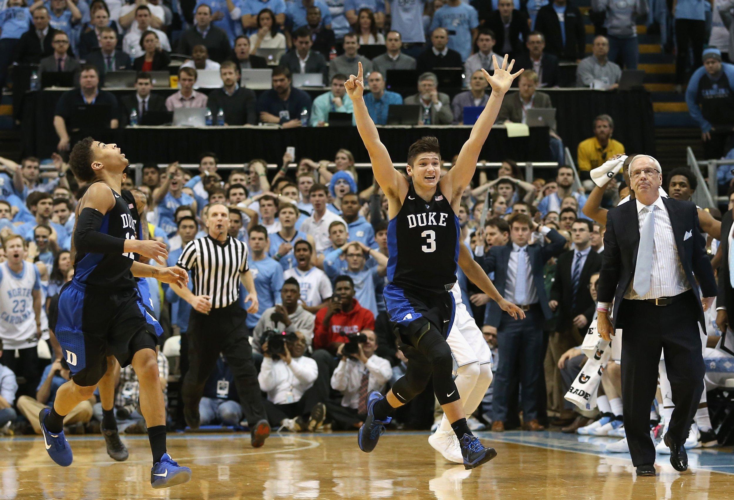 College Basketball Rankings: Duke and Arizona Vie for Top Spot at Start of 2017-18 Season