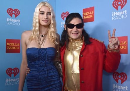 Corey Feldman and his current wife Courtney Anne Mitchel