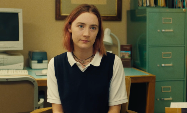 Saoirse Ronan in the new film 'Lady Bird'