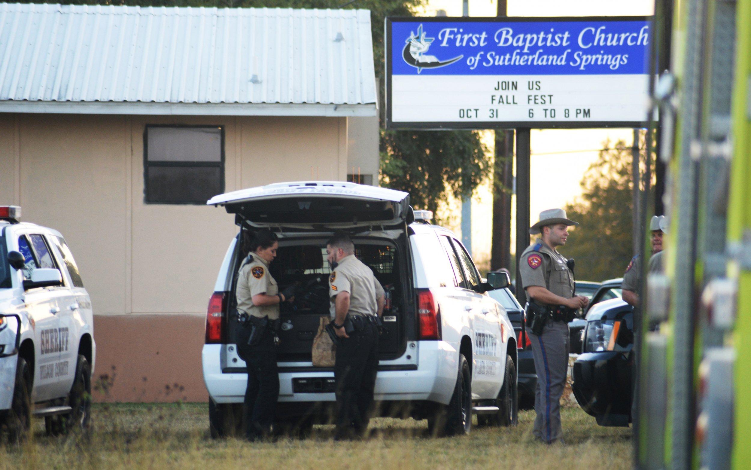 Former Air Force member kills dozens in Texas baptist church shooting