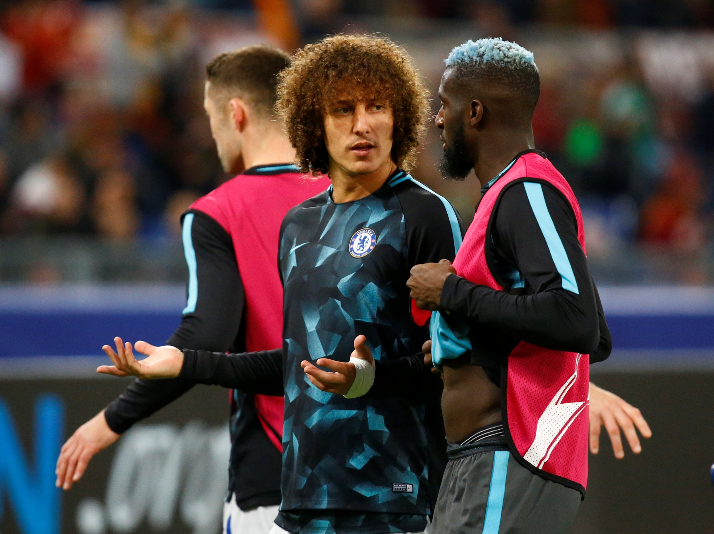 Luiz and Bakayoko