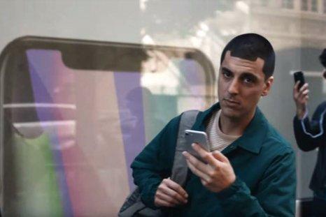 apple iphone x notch samsung ad