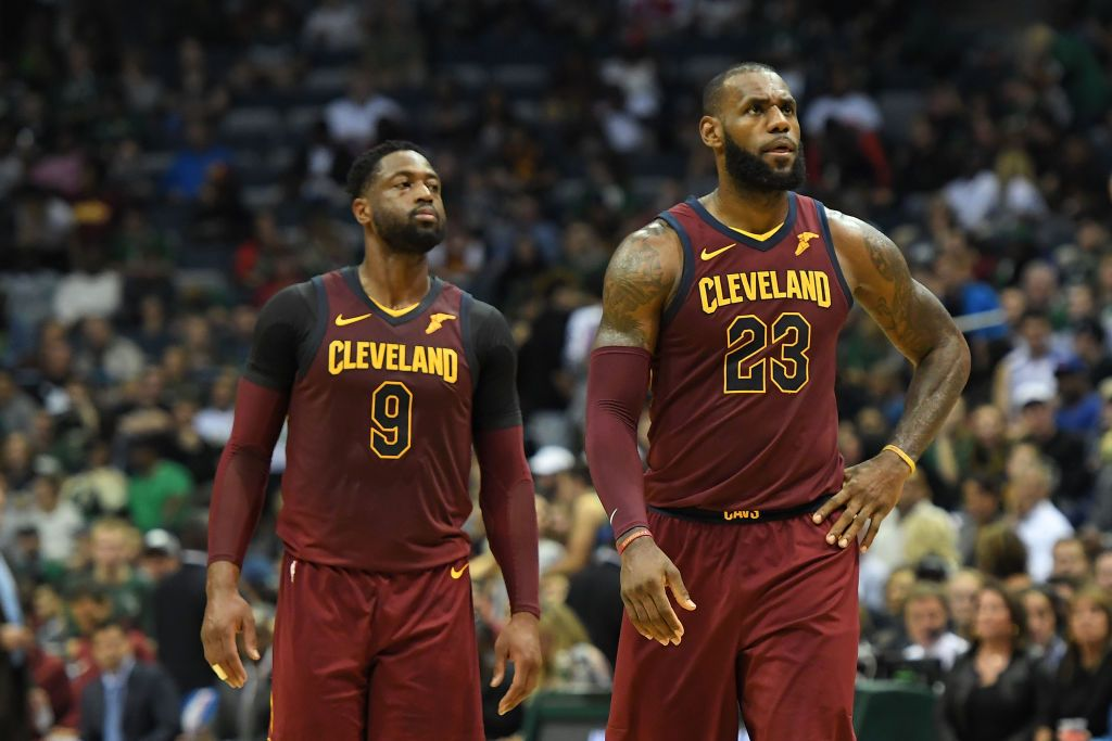 reputable site cd7a7 1674b Dwyane Wade Is Probably Starting to Regret Joining LeBron ...