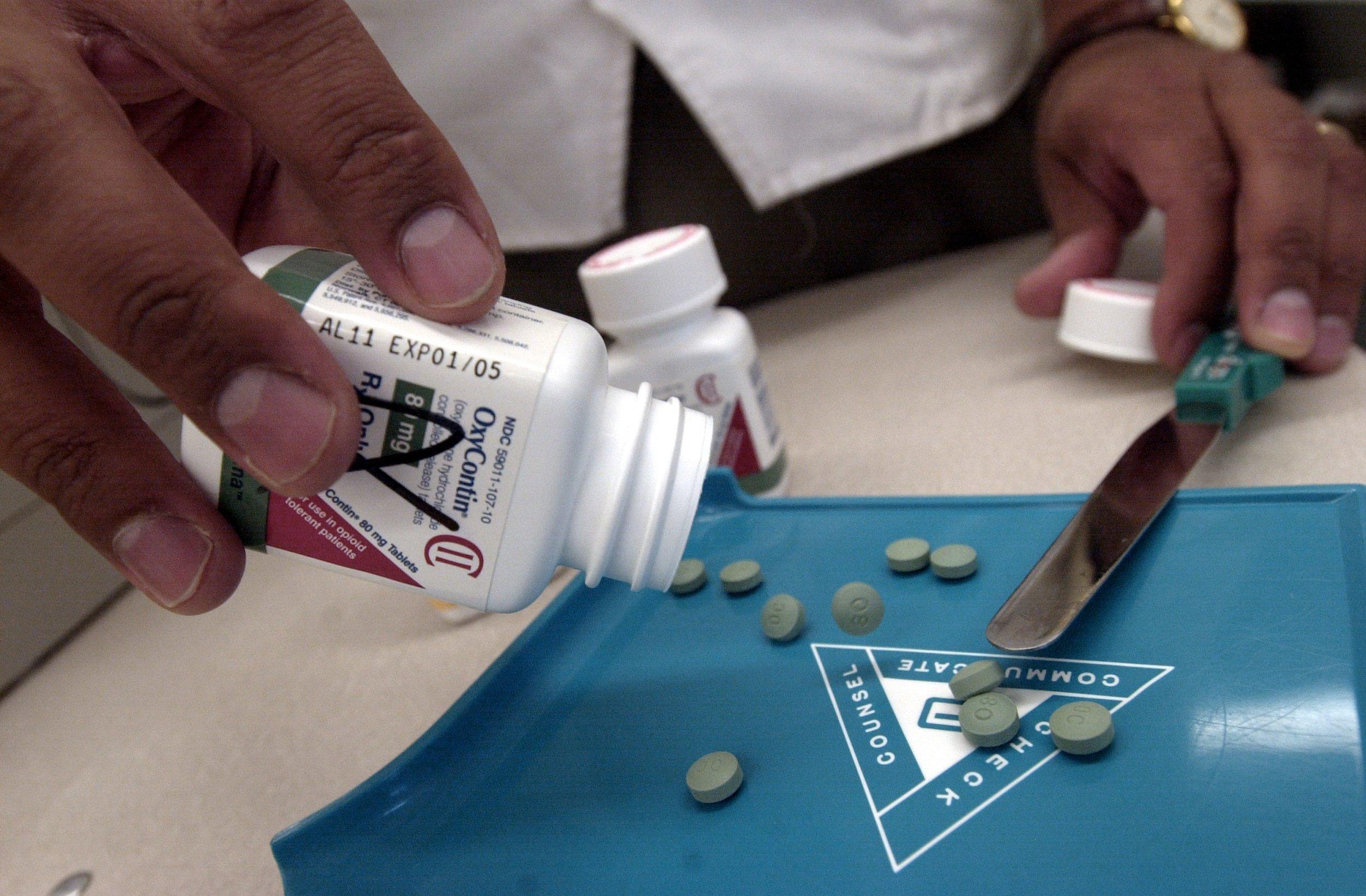 Oxycontin pills 2001
