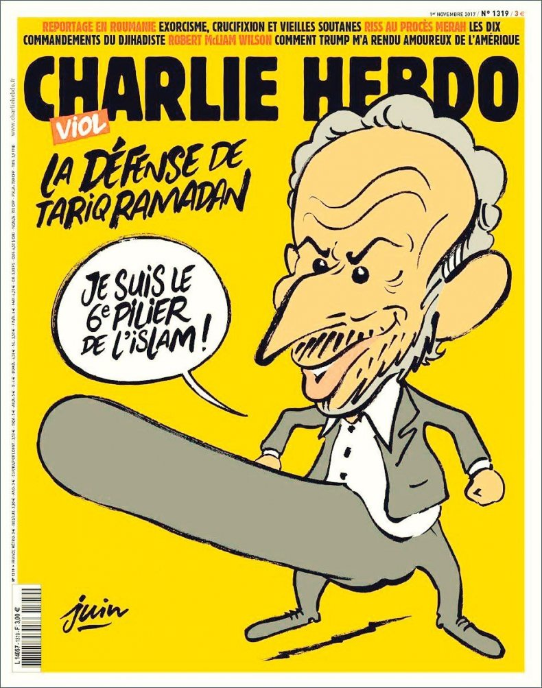 Charlie Hebdo Gets Death Threats Over Islam Erection Cartoon