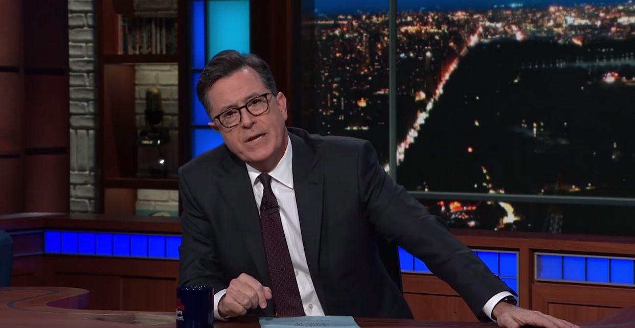 Colbert on gun laws and Texas shooting