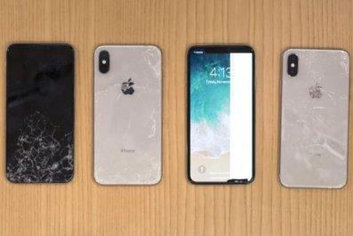 iphone x apple fragile durable screen break
