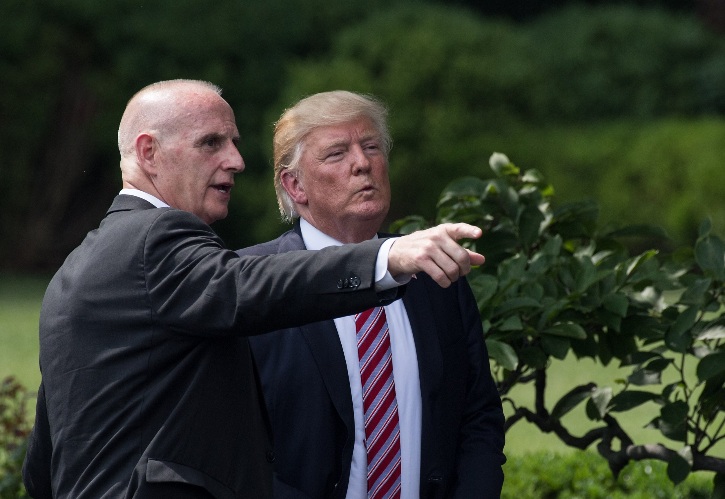 Keith Schiller, Donald Trump