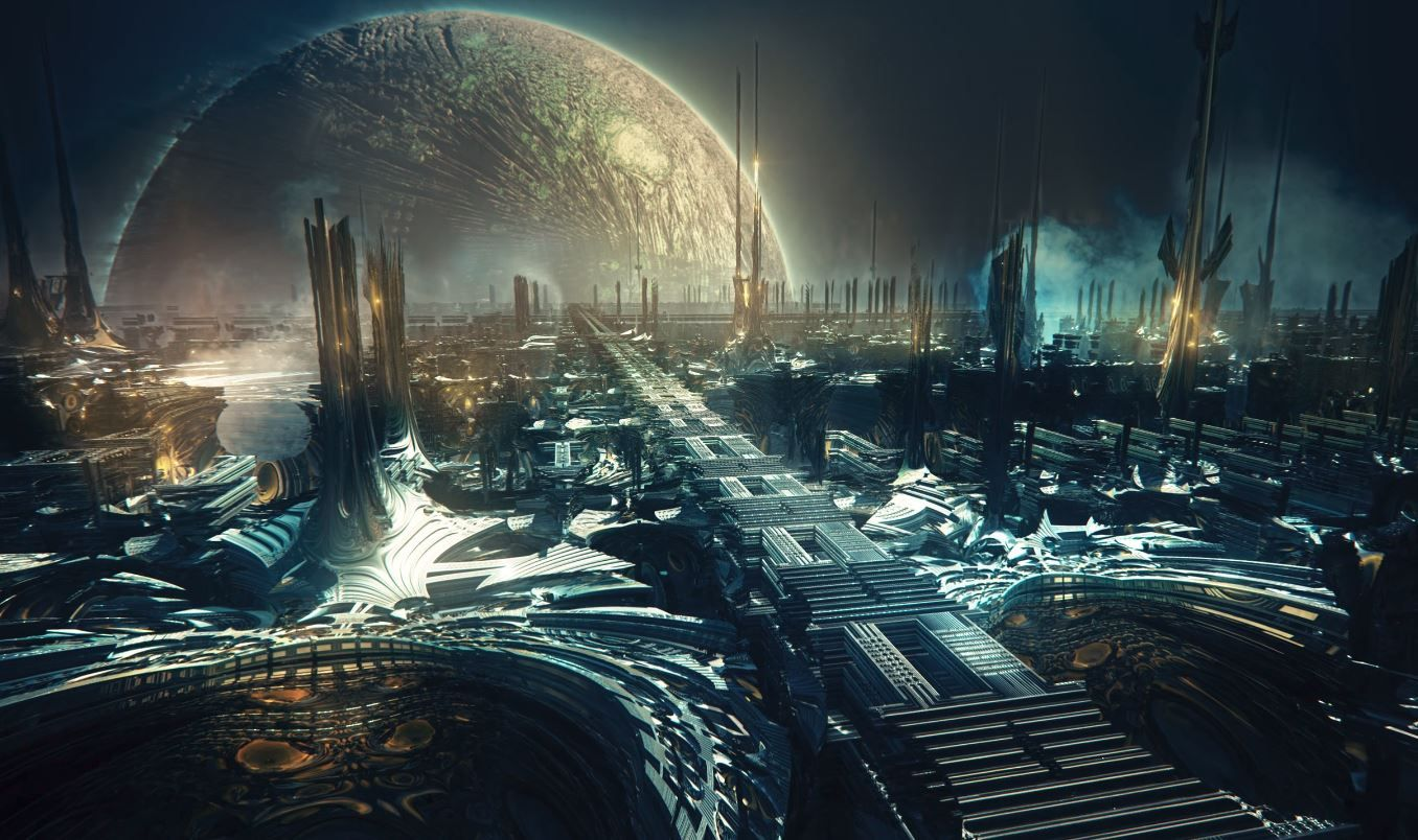 Artificial Intelligence Imagines Alien Worlds in Computer-Generated