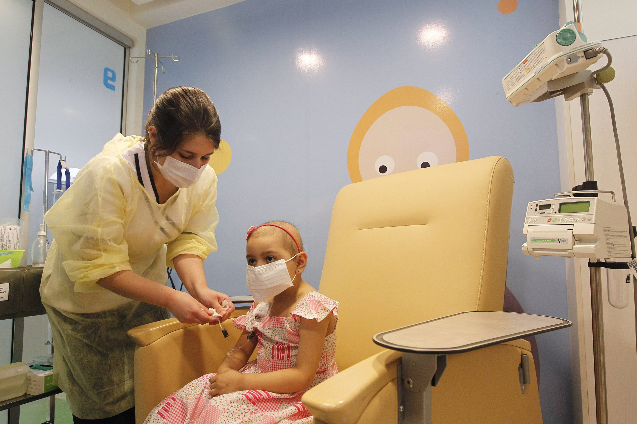 Girl chemo
