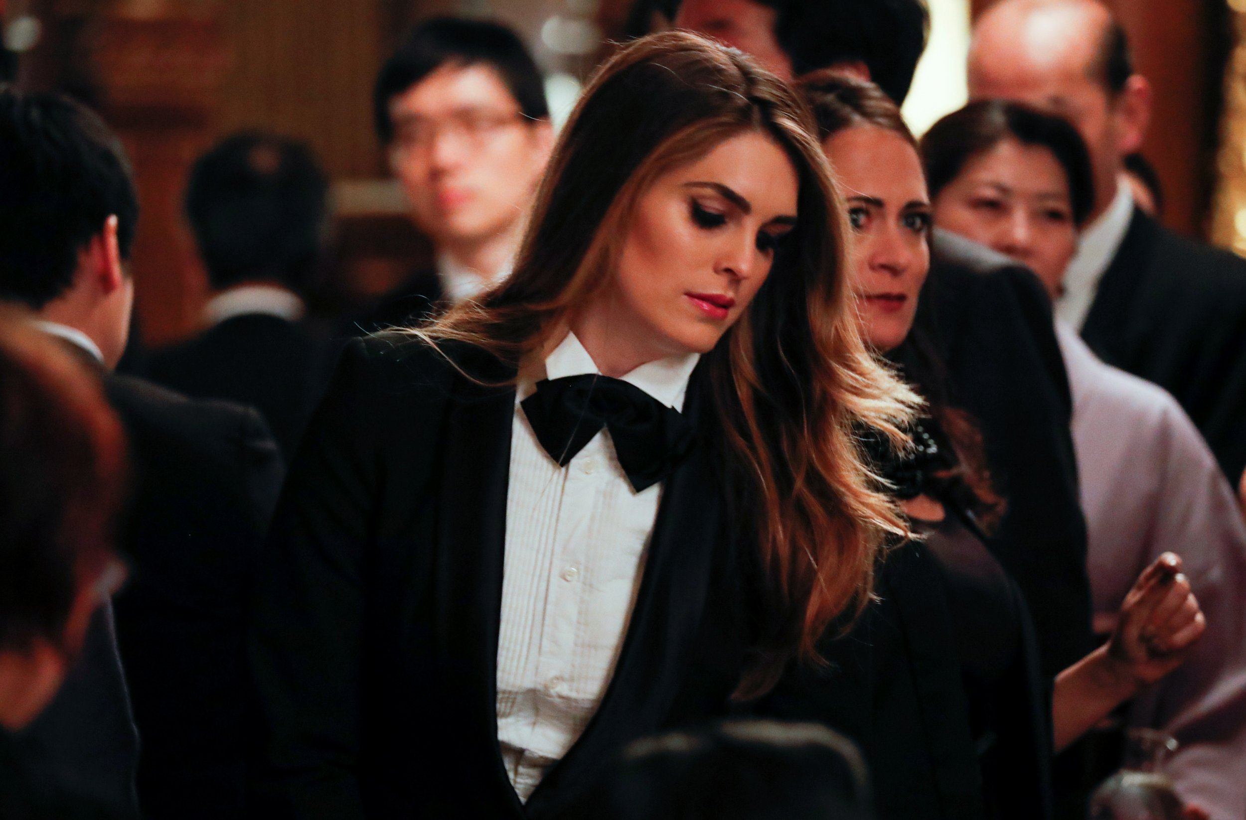 c225e2d1fa4d Hope Hicks has flown under the radar as Donald Trump's longest-serving  political aide. All that will change as early as next week, when the White  House ...