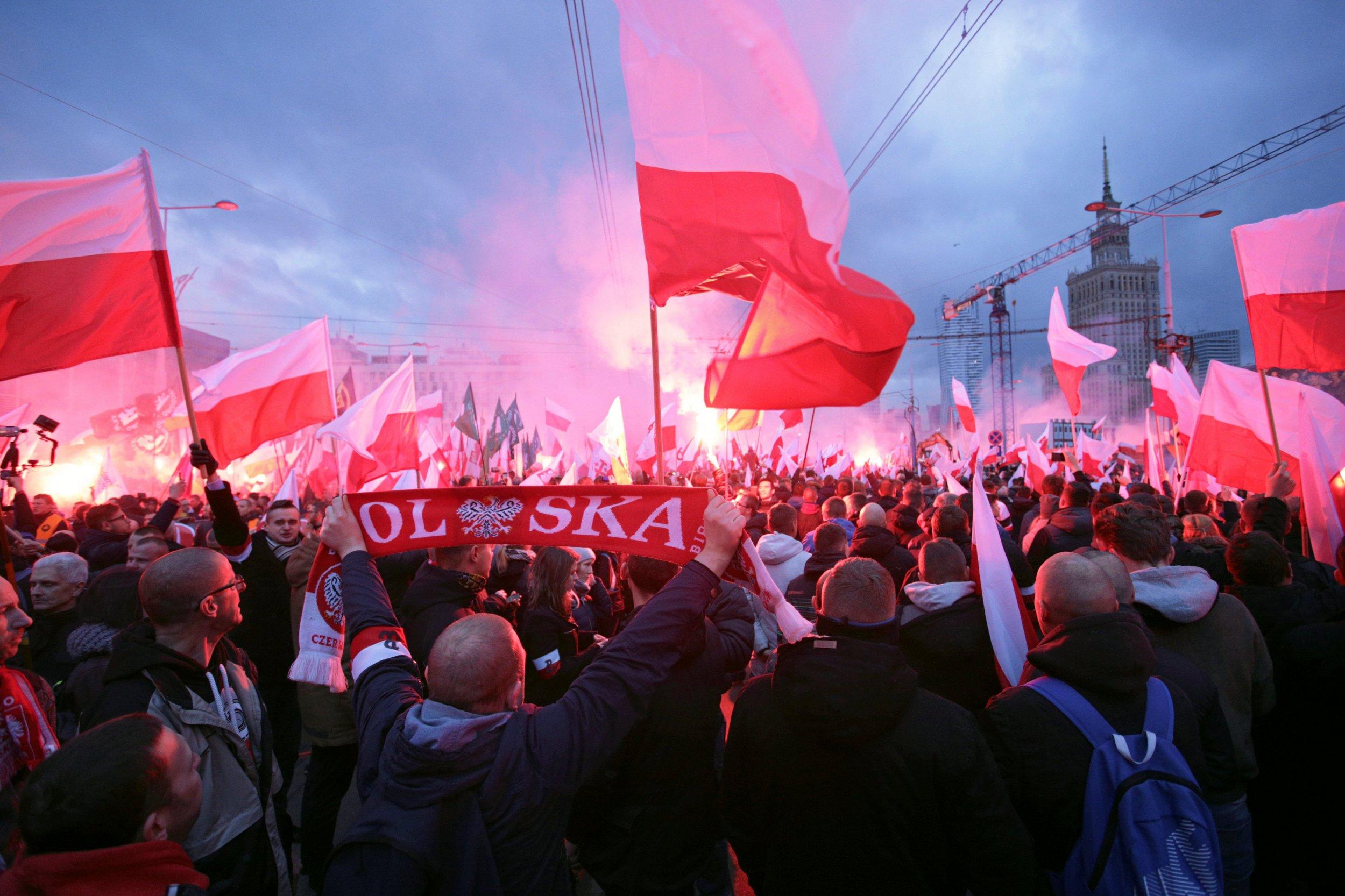Warsaw rally