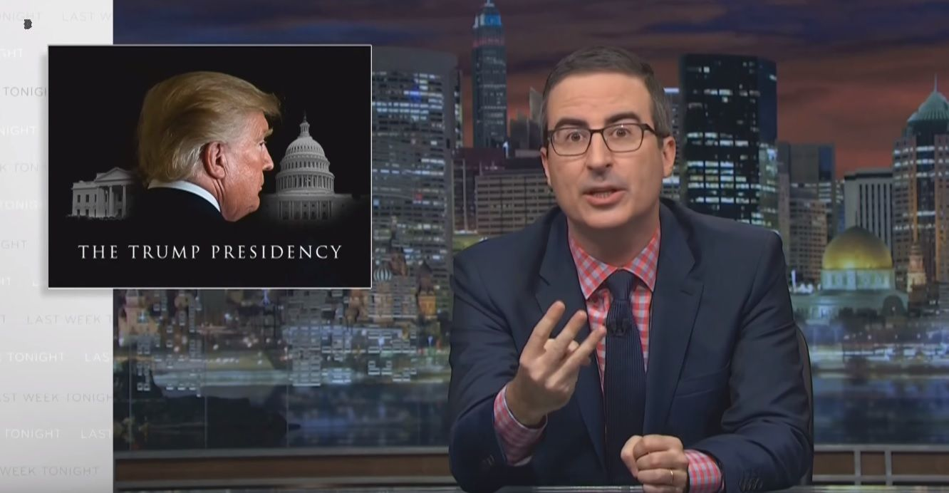 Trump is destroying America with trolling and more, says John Oliver