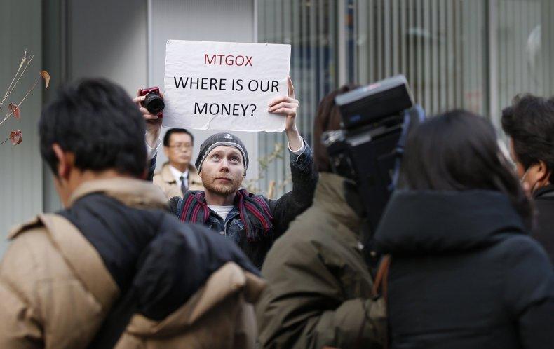 mt gox mark karpeles bitcoin protest