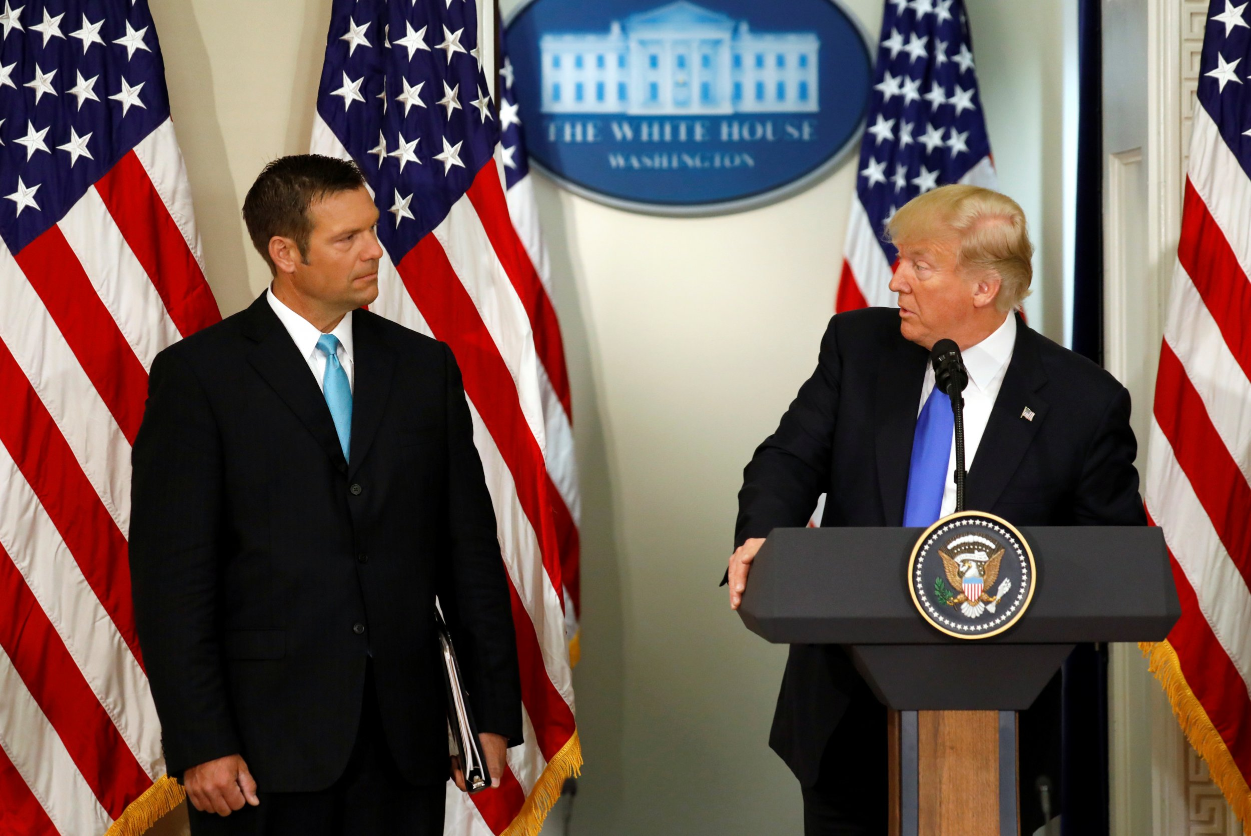 kobach and trump pacei
