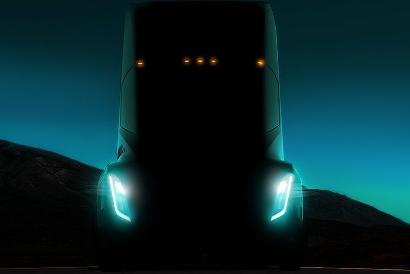 "Elon Musk reveals Tesla Semi truck that will ""blow your mind out of your skull and into an alternate dimension"""
