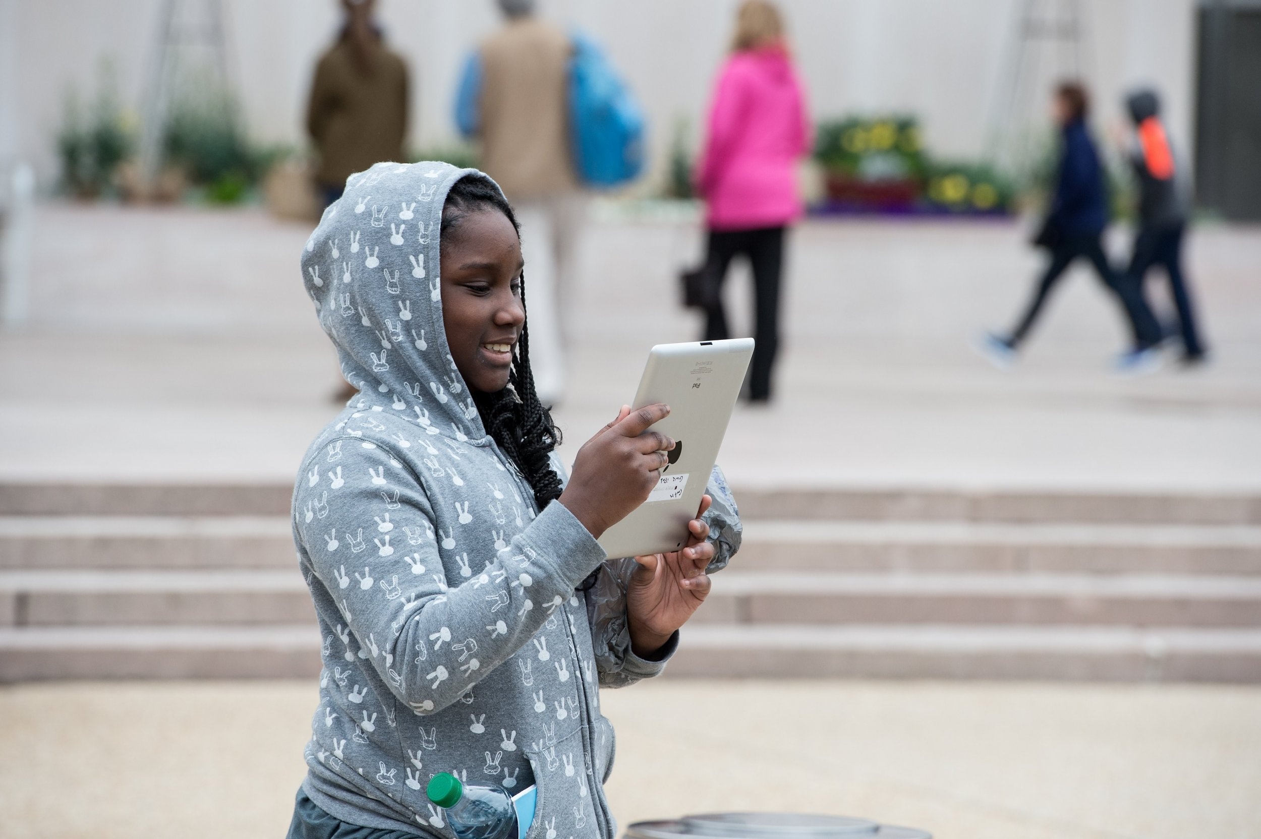 Teen with Screen