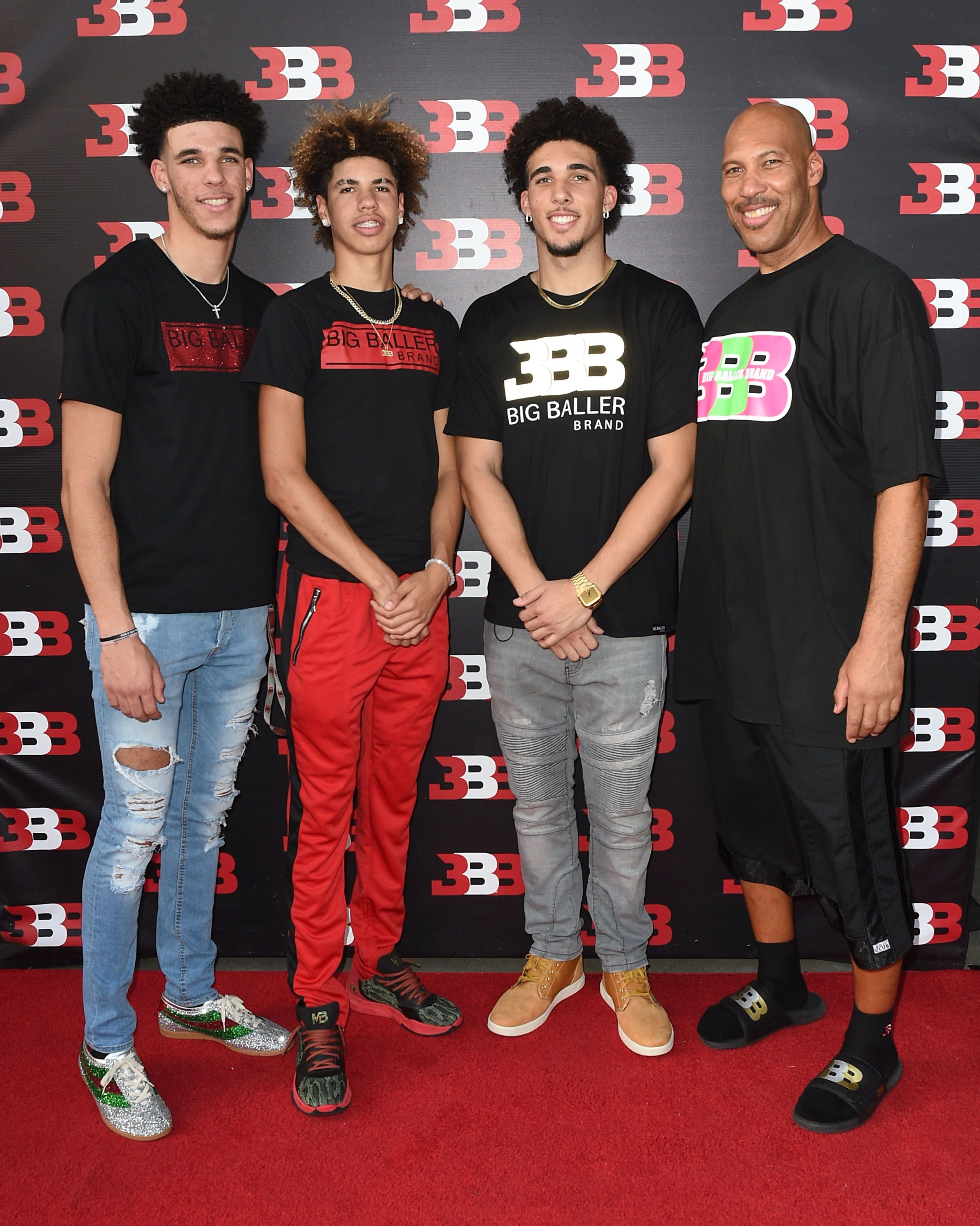 Lonzo, LiAngelo and Lavar Ball Out-Trump Trump in ...