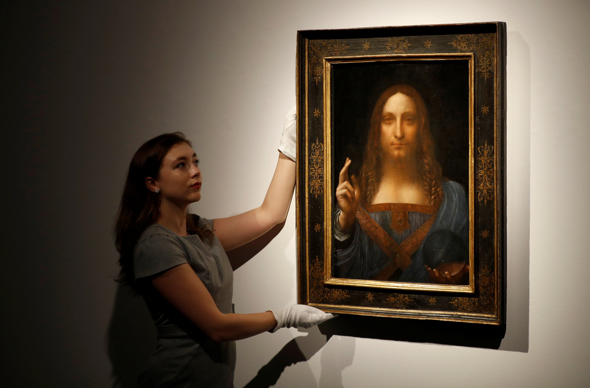 A leonardo da vinci portrait of jesus bought for 10 000 for What is the most expensive painting