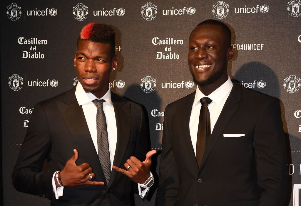 Pogba and Stormzy